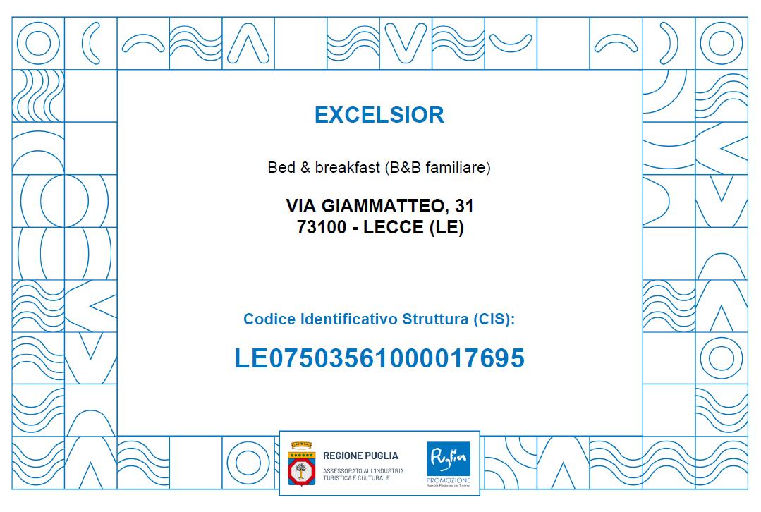 Codice CIS - BBExcelsior